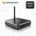Hot selling wifi 2.4G/5G h.265 4K Octa Core S912 TV Box