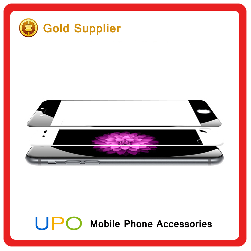 [UPO] Factory supply 2.5D tempered glass full screen film screen protector for iphone6