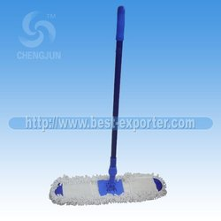 360 degree revolve microfiber dust cleaning flat mop series