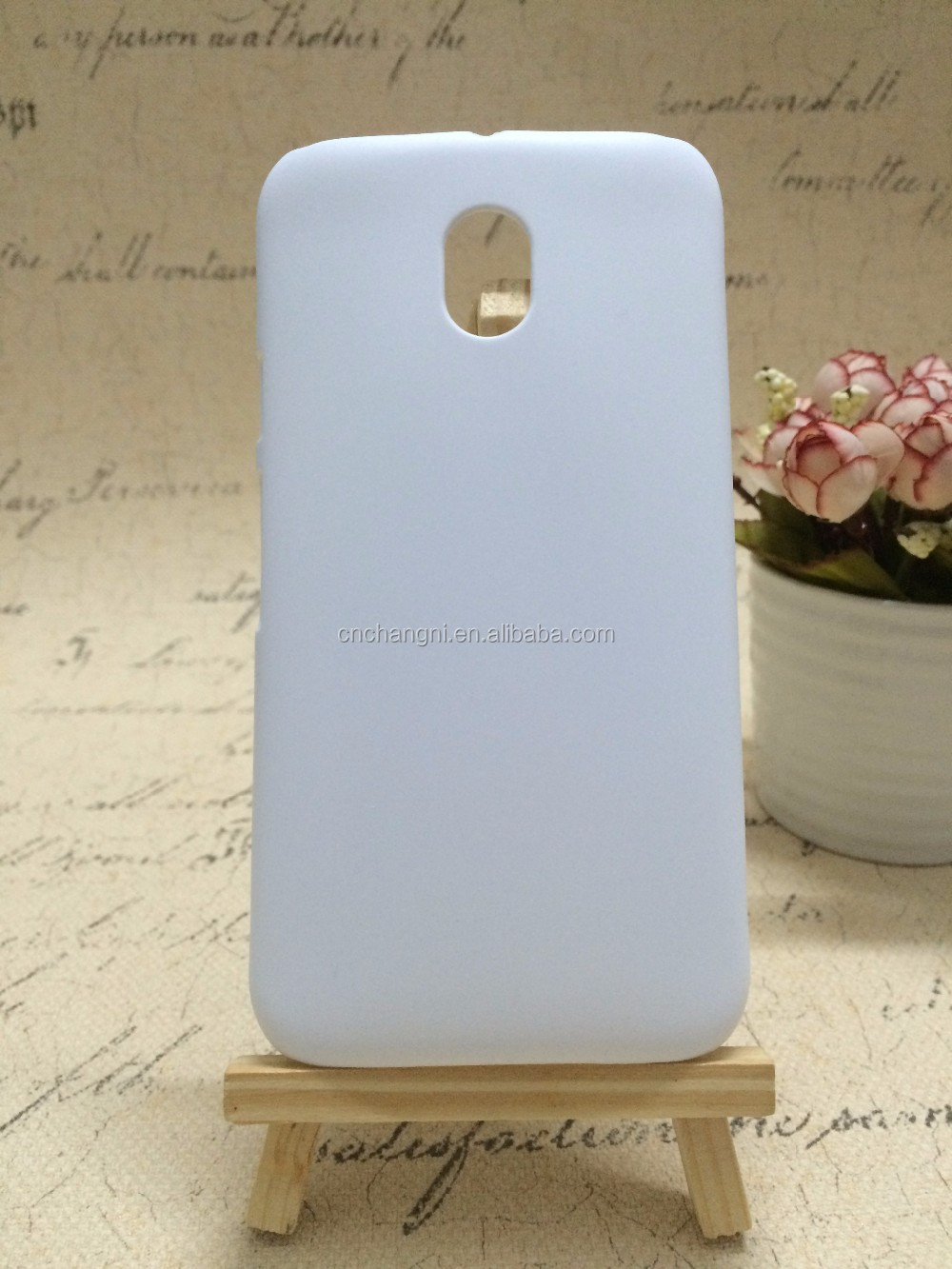2015 fashion 3D sublimation case for Moto G3 in short hole