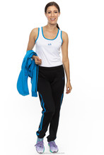 wholesale latest design fitness Lady 3pc set tracksuit
