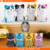Ranphys Cute Mini Cat Keychain Portable Cartoon bluetooth speaker