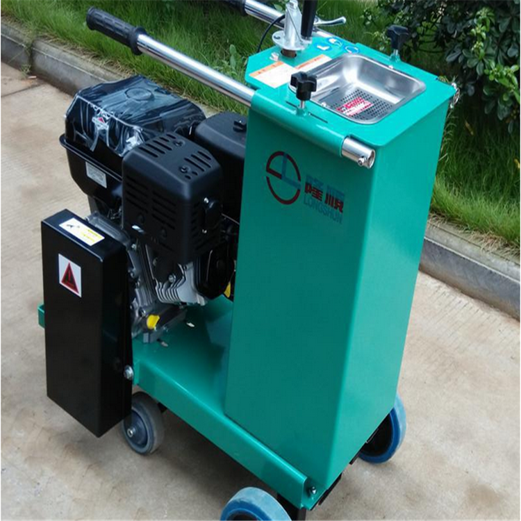 Semi-auto machine handheld type road concrete cutter machine