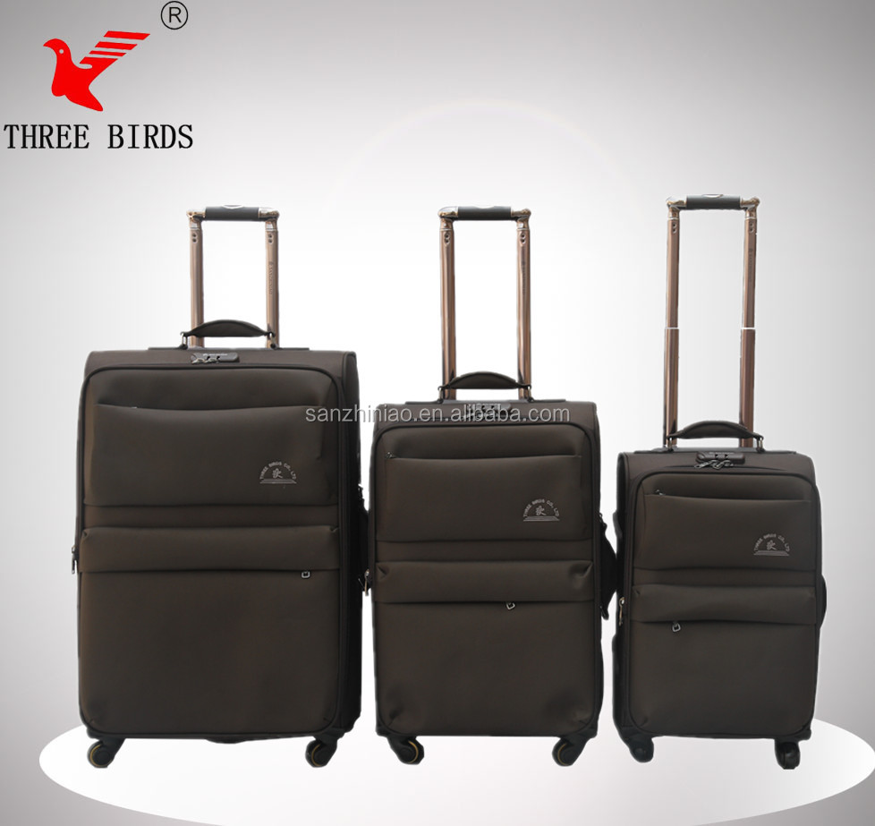 China Baigou supplier famous luggage/ decent design high quality motorcycle rear case/ luggage belt for business and travel
