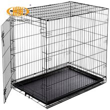 Made in China factory direct sale foldable large cheap welded wire mesh dog cage