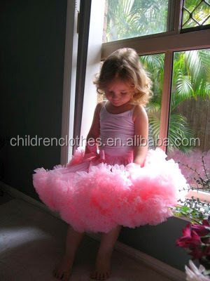 Plus size girls tutu adult pettiskirt with bow