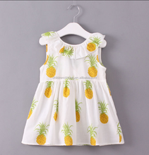 jumpsuit ruffle collar clothing suit for baby girl floral pattern baby bulk dresses