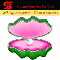 hot fix tape for Handmade glass/plastic Bead Necklace
