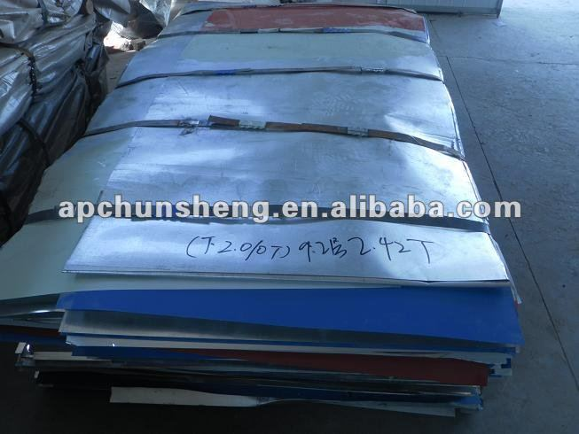 second choice steel material(PPGI Sheets)