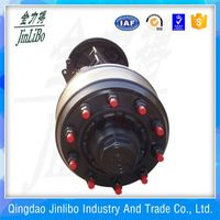 New products farm trailer trailer steering tricycle differential axle