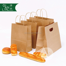 Recycled Craft Kraft Paper Twisted Handle Bag