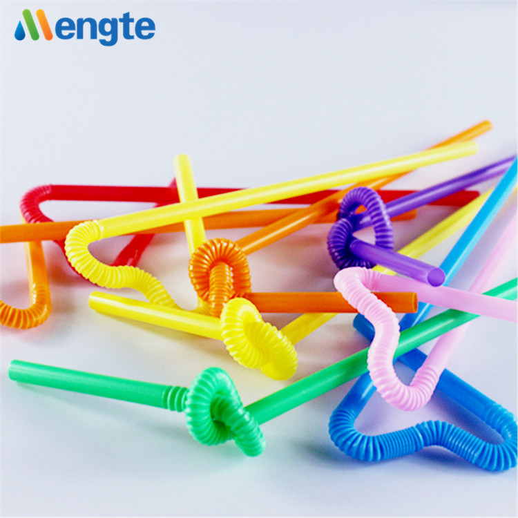Best quality beautiful color plastic artistic drinking straw