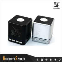 t2030a hot sale cubic mini bluetooth speaker usb port fm radio with any portable audio player