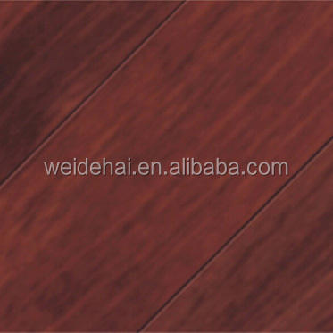 Waterproof engineered 12mm indoor laminated <strong>oak</strong> wood flooring from China supplier