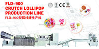 FLD- Advanced Colorful Fancy Lollipop Machine/Candy Cane Line