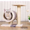 New Indoor Cat House, Pet Cat Play Tunnel With Scratching Ball, Cat Kitten Toy