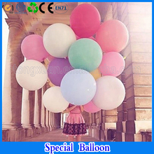 colorful blow up 36 inches balloon ball helium inflable big latex balloons for a birthday party decoration