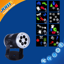 Festival Atmosphere Decoratitive Running Led Projector Light for Christmas Halloween Birthday