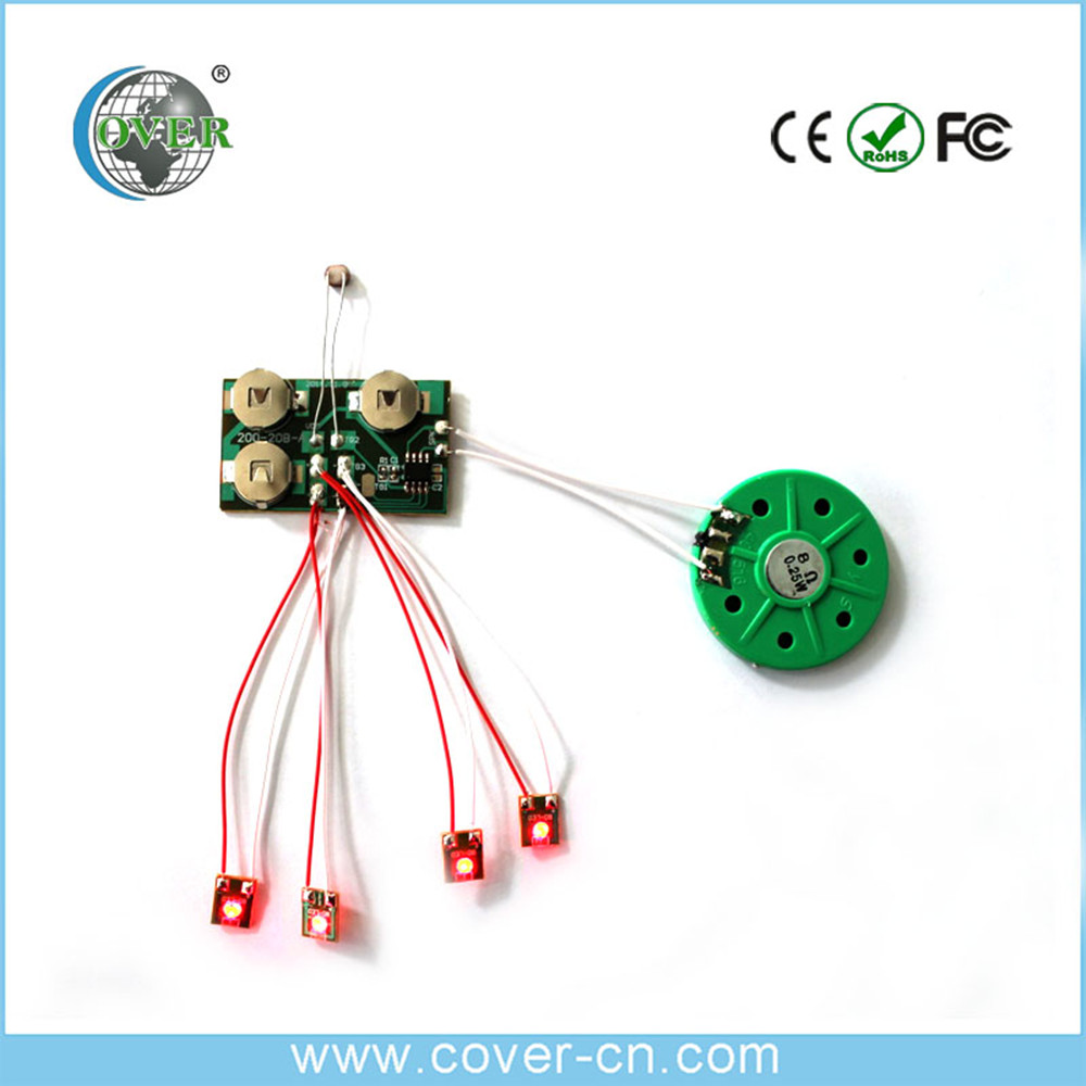 Chinese supplier programmable sound module greeting card sound module with sound custom for Christmas gifts