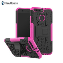 Phone Accessories PC TPU Hybrid 2 in 1 Kickstand cell phone Case For Huawei Honor 8 Pro V9