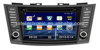 New products car dvd for Suzuki Swift GPS with bluetooth