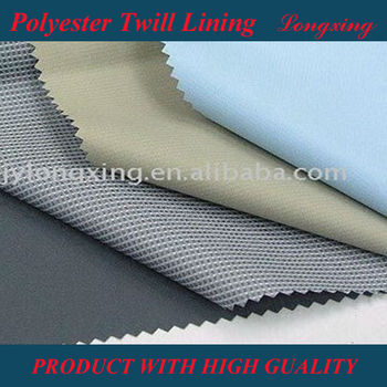 Polyester Twill Lining