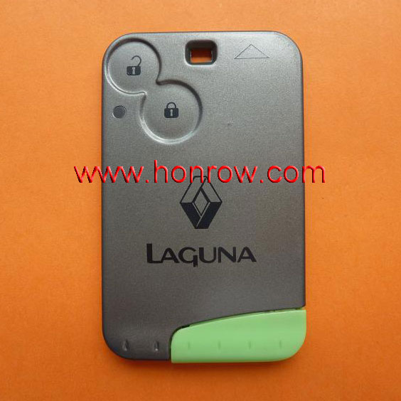 High quality Renault Laguna 2 smart key card with PCF7947 Chip and 433MHZ,key card renault laguna 2