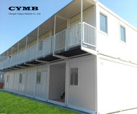 CYMB low cost 2 storey prefabricated house