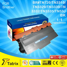 cartridge toner TN720 for Brother wholesale to toner cartridge importers