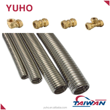 YUHO Annealed Corrugated 304 stainless steel flexible hose