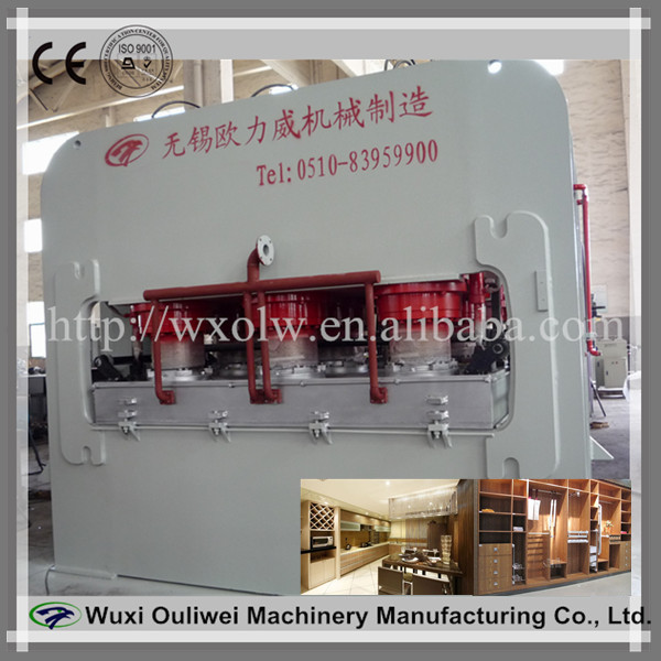 Hydraulic Laminating Press Machine for Plywood furniture