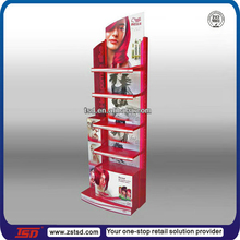 TSD-W662 Custom design furniture cosmetics shop,cosmetic shelving rack,hair product display stands