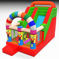2018 funny inflatable slide/clown slide for sale