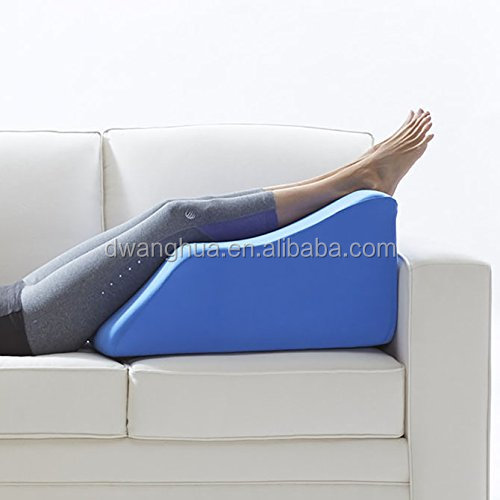 Extra Wide Lounge Doctor Leg Rest w/Cover Blue Large FOAM-XWIDE-L-BLUE