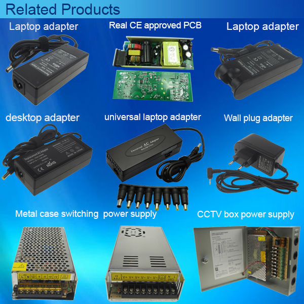 30W 12W multiple Voltage 3V~12V universal wall charger power supply PSU
