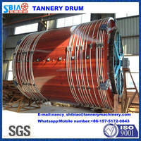 D3.5X3M leather tanning overloading wooden drum/leather machine/tannery machine