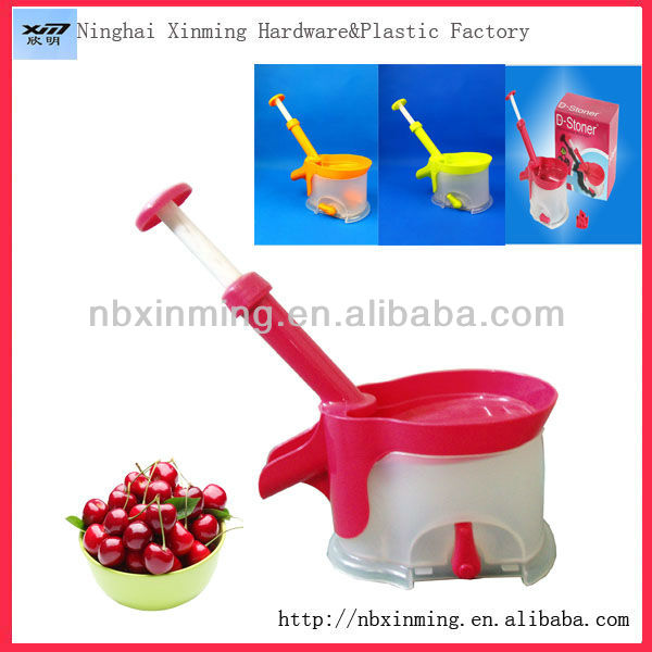 hot sell plastic kitchen gadgets cherry stoner