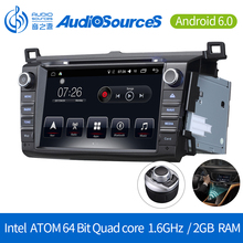 Car gps navigation android 6.0 Car Dvd with Radio RDS 3G BT car dab radio for toyota rav4