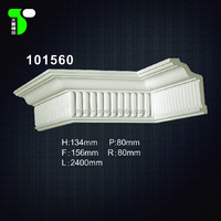 Polyurethane Decorative Cornices Building Materials