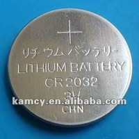 CR2032 hearing aid battery