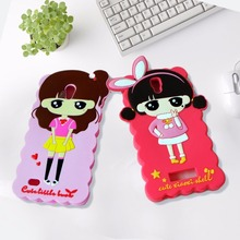Lovely animal shaped silicone mobile phone case