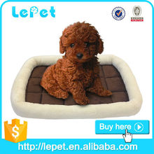 Soft Fabric handmade dog bed/disposable dog bed/hamburger dog bed