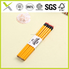YiWu 7'' wooden pencil EN71-3,ASTM4236 pen factory in yiwu sandalwood color pencil