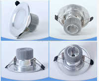 Recessed 5w/7w/9w/10w/15w/25w/35w IP65 china led downlight product