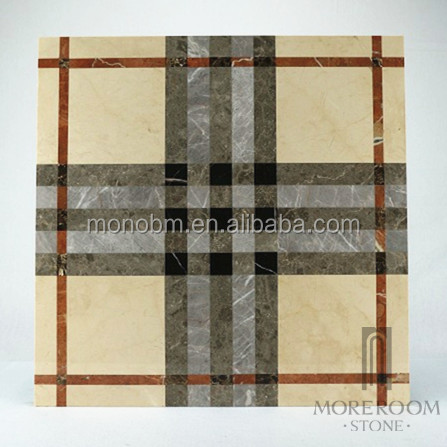 European Burburry design 80x80 marble tile for sales promotion
