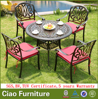 All Weather Cast Aluminum Outdoor Dining
