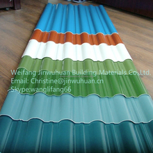 Colored /Corrugated lighting FRP Roofing Sheet