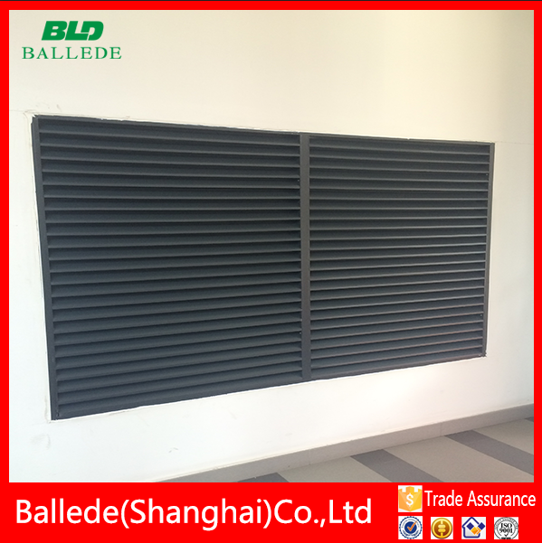 high quality decorative exterior aluminum louver shutter