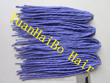 2014 new fashion! high quality 10pcs/100g/bag noble hair extensions dreadlocks synthetic dreads free shipping