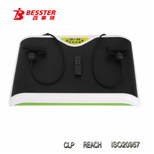 Hot-selling crazy fit massage vibration slimming machine home gym body fit exercise equipment exercise belt vibrator